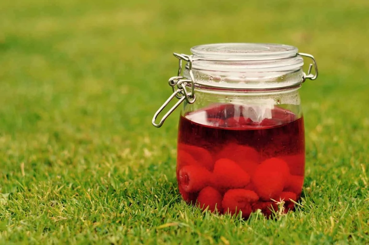 How to make Raspberry Gin