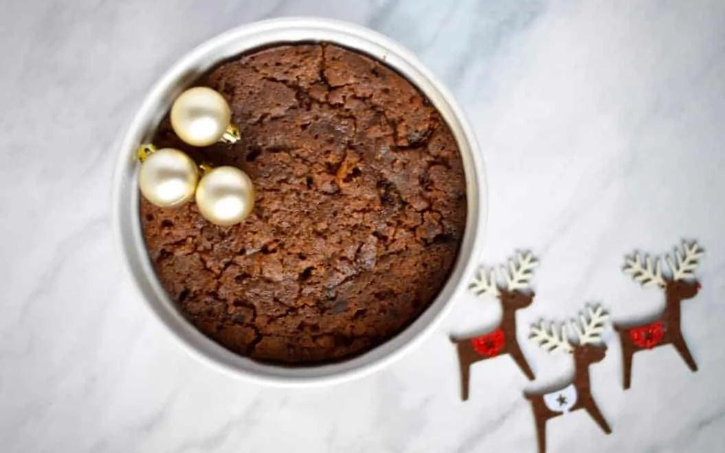 easy microwave christmas pudding