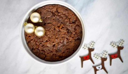 easy microwave christmas pudding