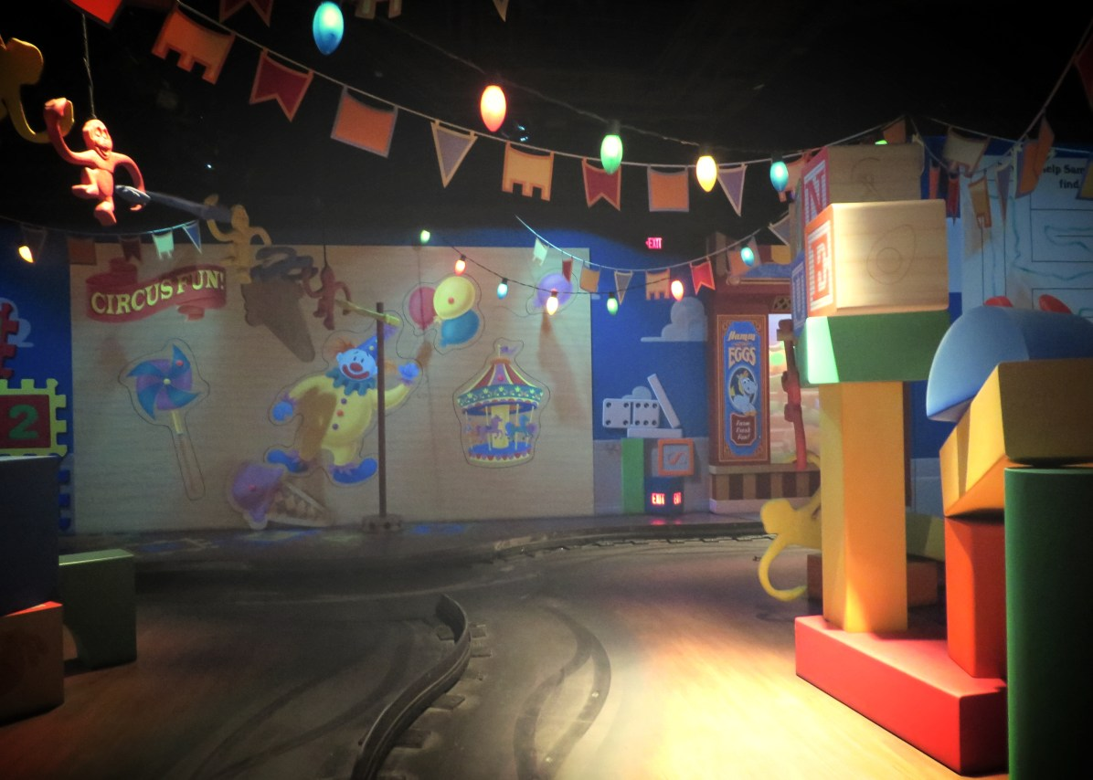 """Toy Story Midway Mania"" by travelingnorthagency is licensed under CC BY"