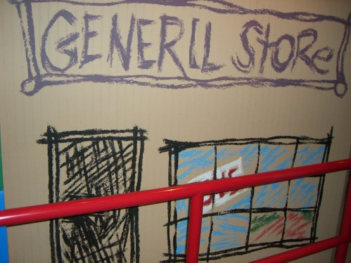 """""""General Store sign in Toy Story Midway Mania"""" by JeffChristiansen is licensed under CC BY-SA"""