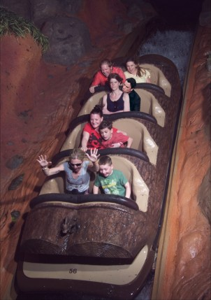 Angry Splash Mountain Travolta