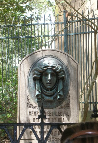 """""""Headstone at the Haunted Mansion"""" by hyku is licensed under CC BY"""