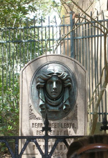 """Headstone at the Haunted Mansion"" by hyku is licensed under CC BY"