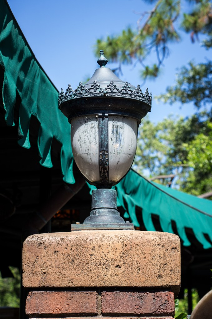 """Haunted Mansion Lamp"" by HarshLight is licensed under CC BY"