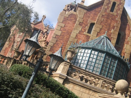 """The Haunted Mansion at Walt Disney World"" by EmilyGracey is licensed under CC BY"