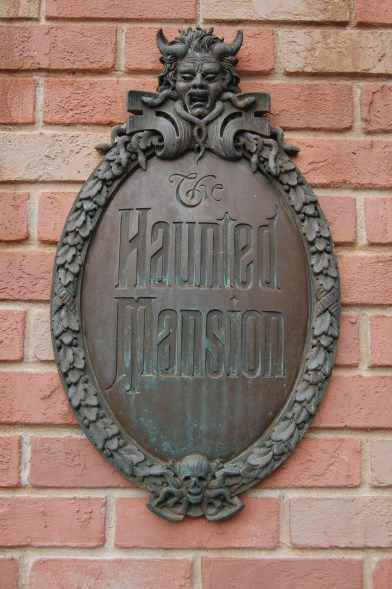 """Haunted Mansion Plaque"" by Lunchbox Photography is licensed under CC BY"