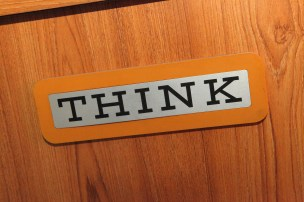 """""""Think"""" by Sam Howzit is licensed under CC BY"""