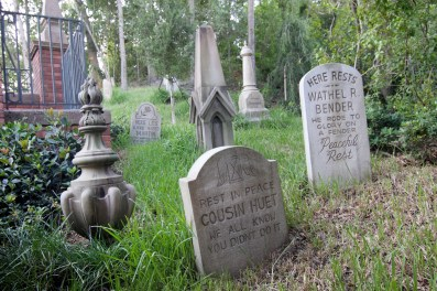 """""""Graveyard"""" by Sam Howzit is licensed under CC BY"""