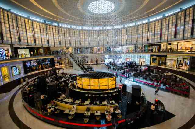 Armani Cafe at Dubai Mall
