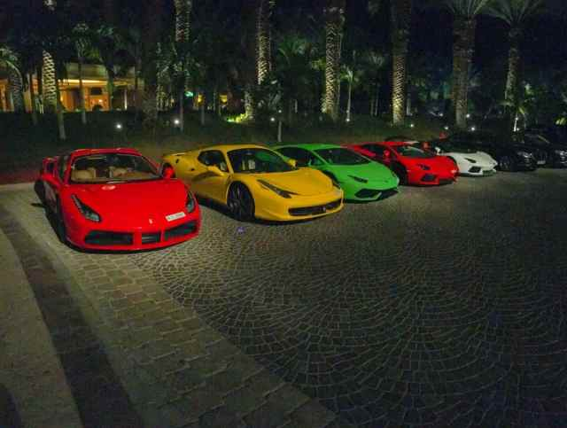 Super Cars Tour Around JBR in Dubai all of the Time   How Expensive is Dubai?   The Vacation Builder