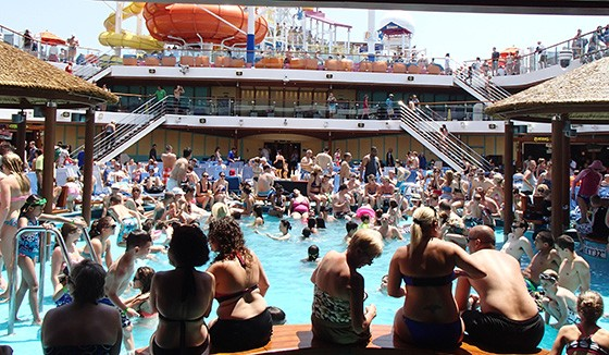 Image result for lido deck cruise ship party pictures