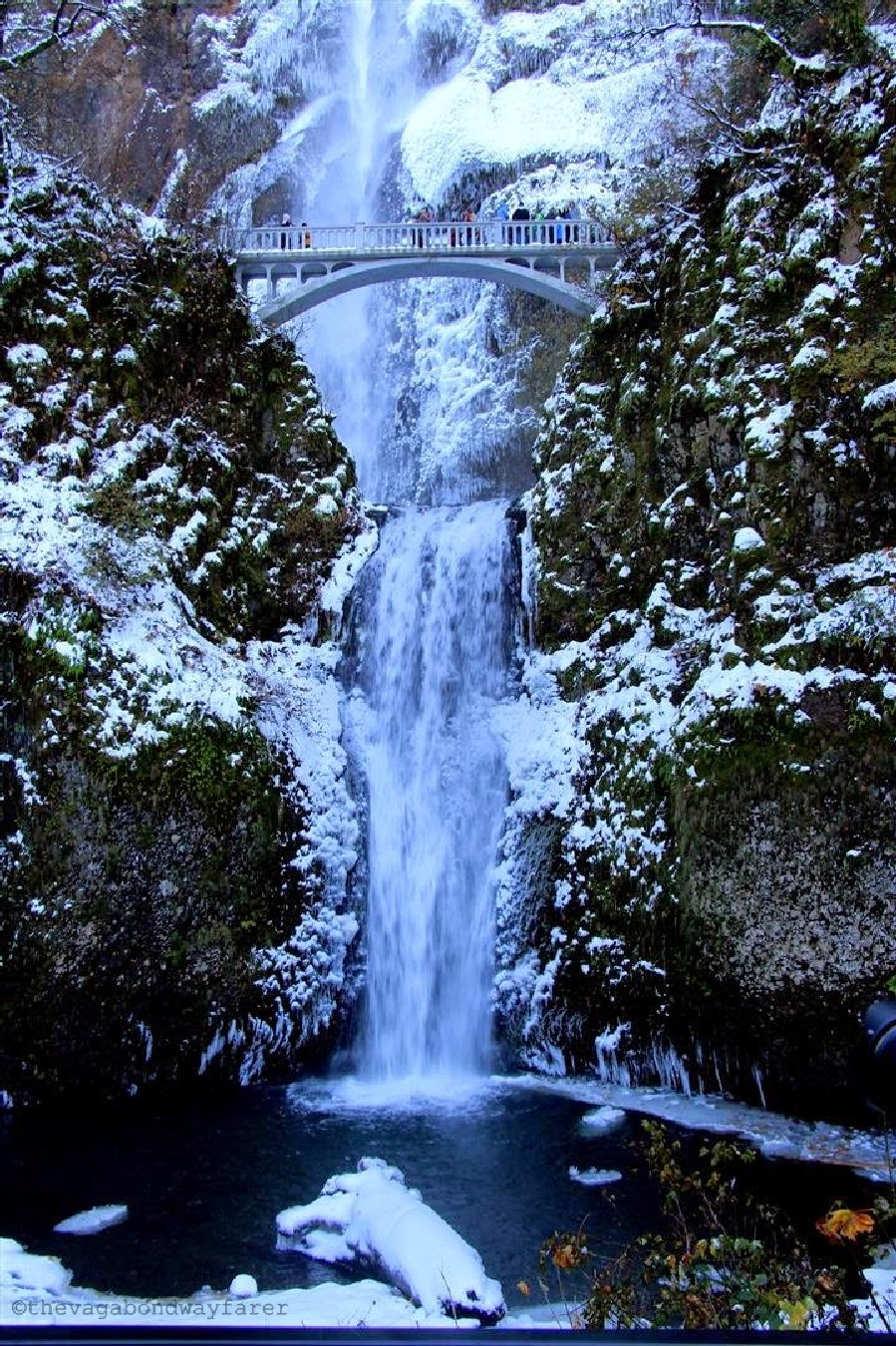 Multnomah Falls - Columbia River Gorge National Scenic Area,. The Vagabond Wayfarer