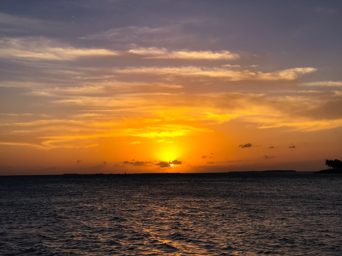 Key West Sunset - The Vagabond Wayfarer