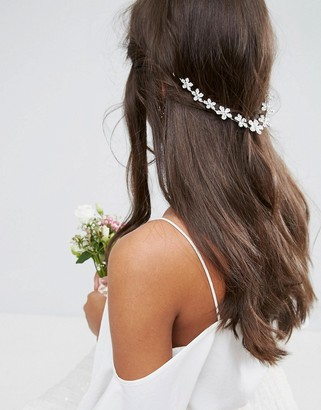 ASOS Flower back hair crown