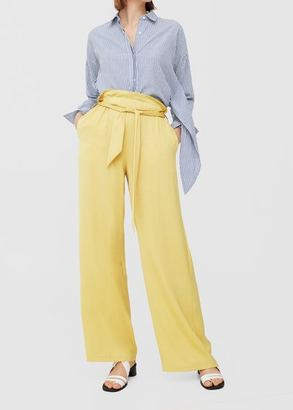 Mango Yellow pants