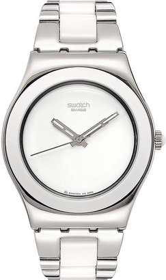 Swatch White Watch