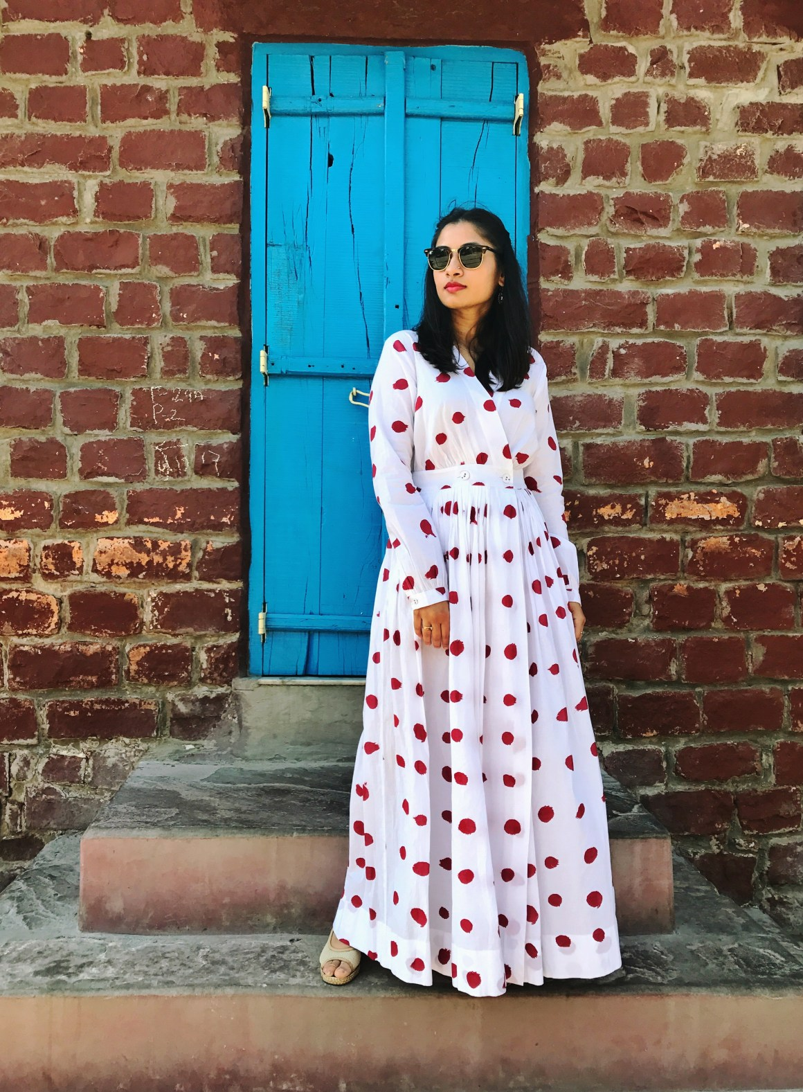 Of Summer Days & Cotton Dresses - Polka Dot dress - Nicobar