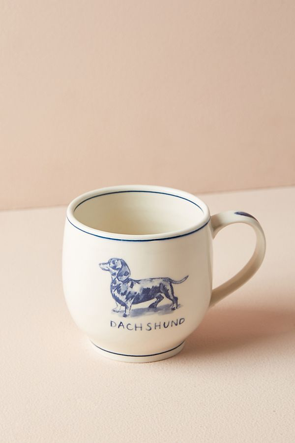 March Favorites - Dachshund Mug Anthropologie
