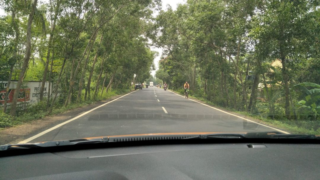 Country roads to Digha