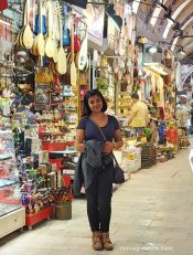 Happy Posing at Grand Bazaar