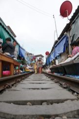 Market on tracks