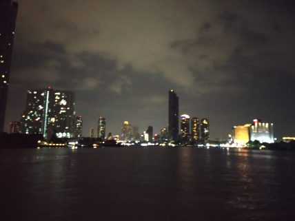 Bangkok Skyline from the Cruise