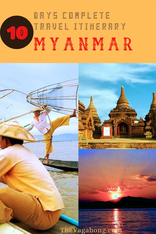 Travel Itinerary of Myanmar