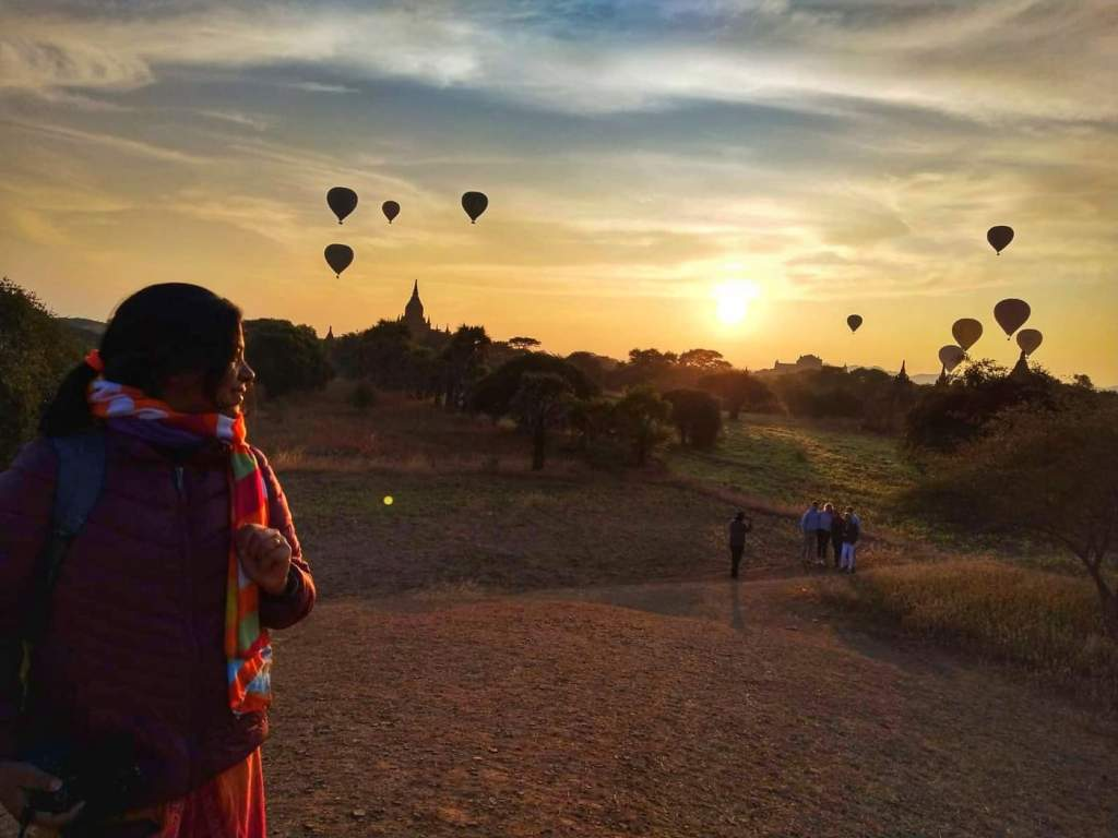 Bagan Sunrise, Myanmar