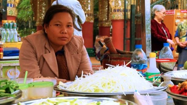 Local Market of Myanmar