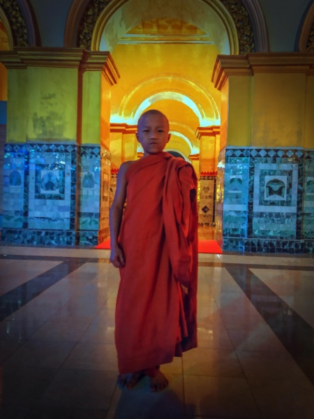 Young Monk, Mahamuni Temple