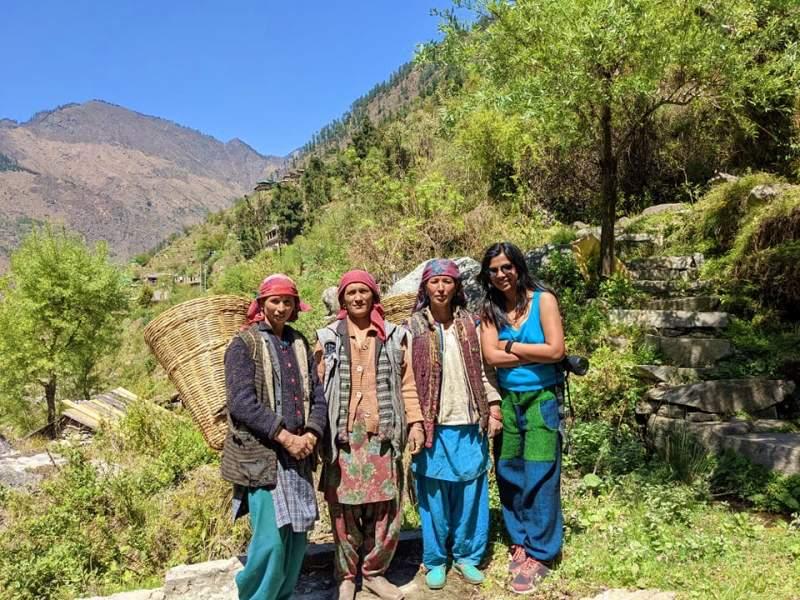 Himachal Pradesh, Flachen Valley
