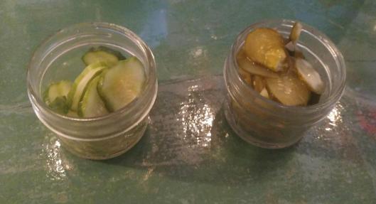 Homemade pickles at Morse's Sauerkraut