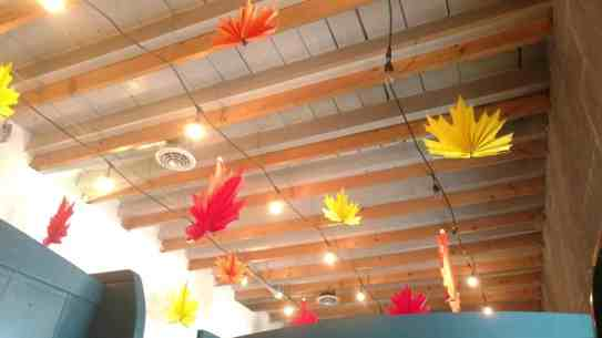 Fall decoration at Morse's Sauerkraut