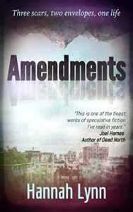 Book Cover of Amendments by Hannah Lynn