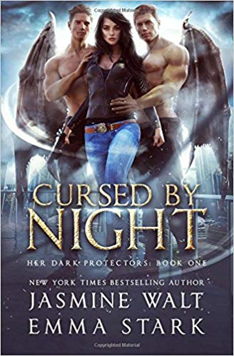 Cover of Cursed by Night - a reverse harem book