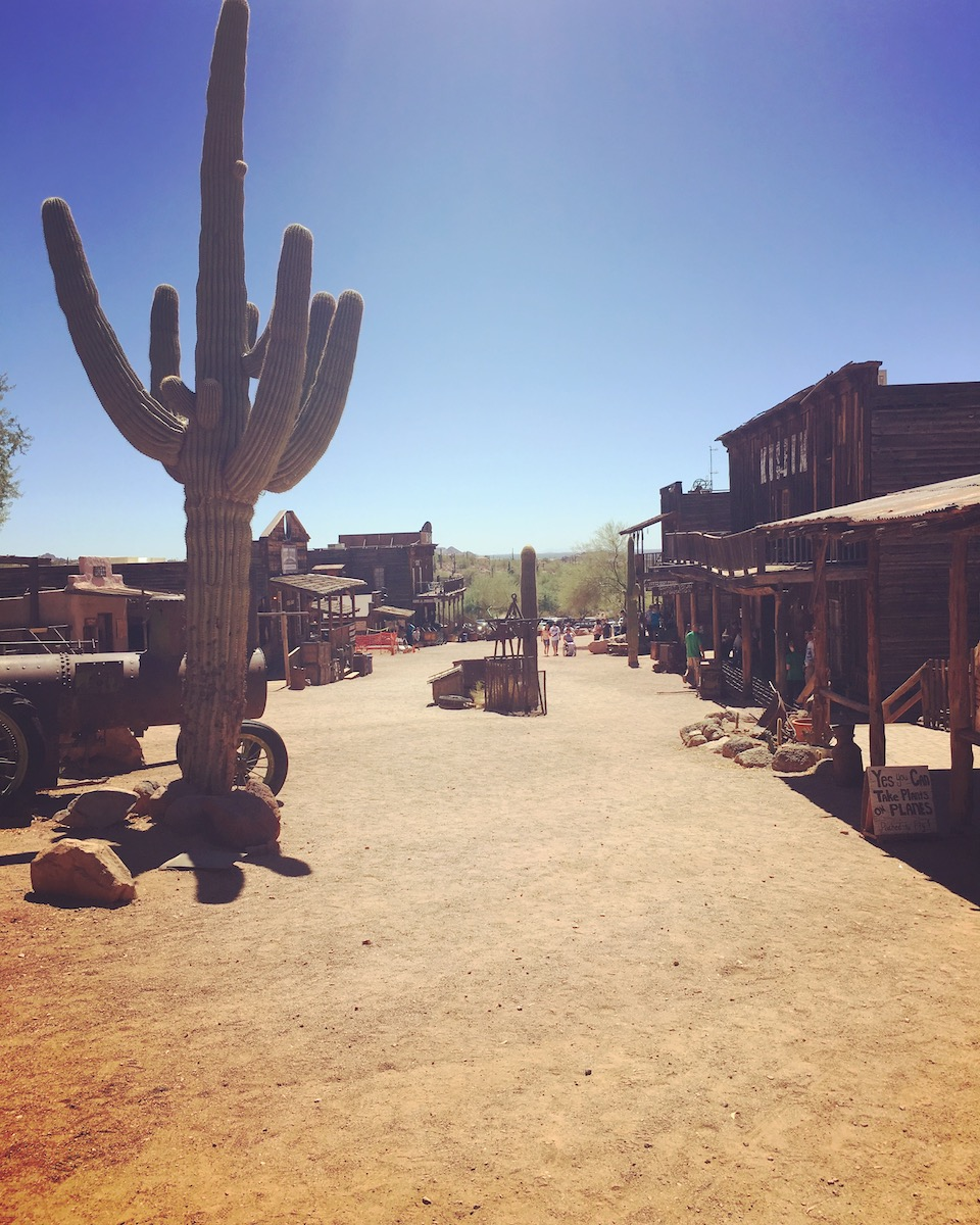 Goldfield, Arizona, Photo by Katerina Papathanasiou