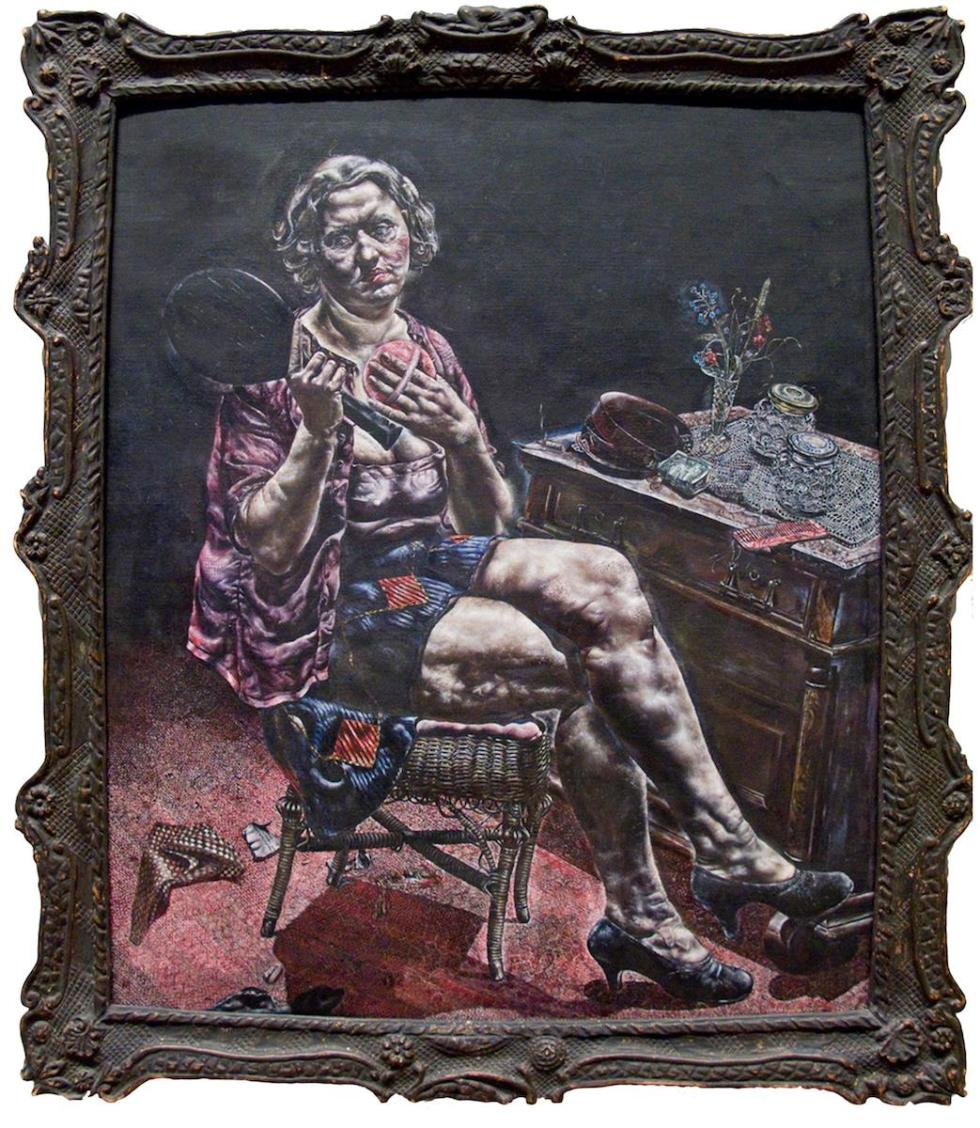Ivan Albright. Into the World There Came a Soul Called Ida, 1929–30. Gift of Ivan Albright. © The Art Institute of Chicago.