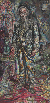 "Ivan Albright. ""Picture of Dorian Gray,"" 1943/1944. Gift of Ivan Albright. © The Art Institute of Chicago."