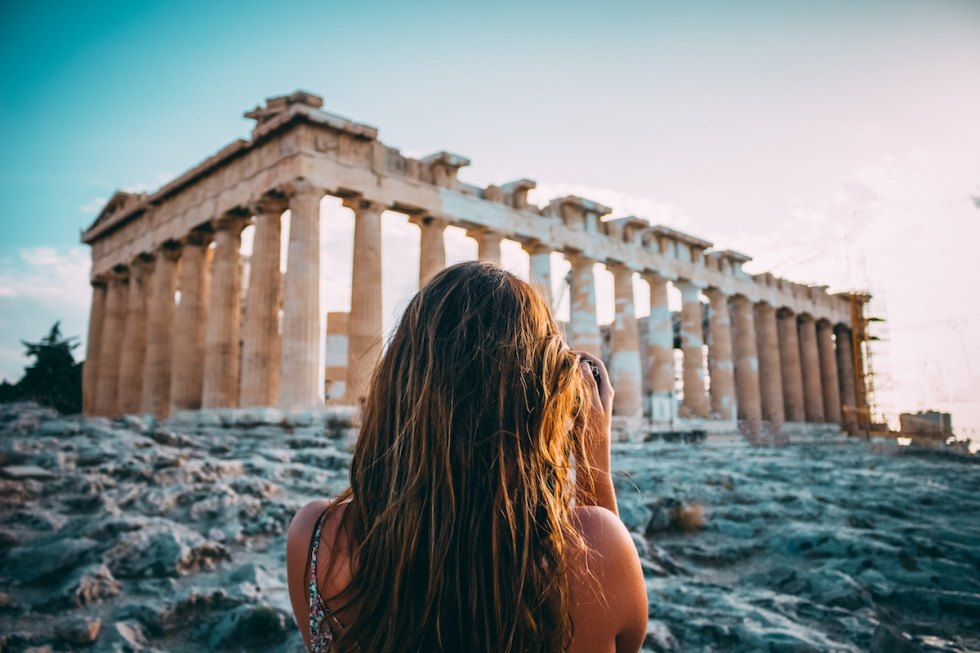 The Parthenon, Athens, Greece. Photo by Arthur Yeti on Unsplash