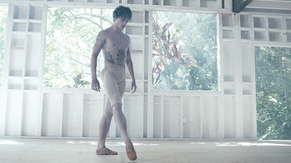 "Ballet dancer Sergei Polunin in the 2016 documentary ""Dancer"""