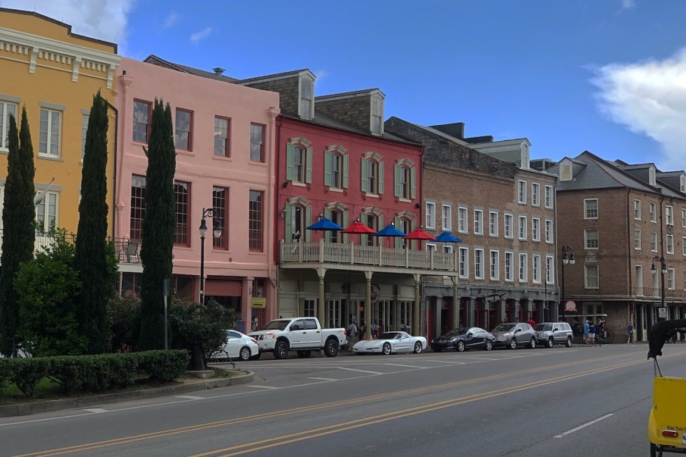 Downtown New Orleans, Louisiana.