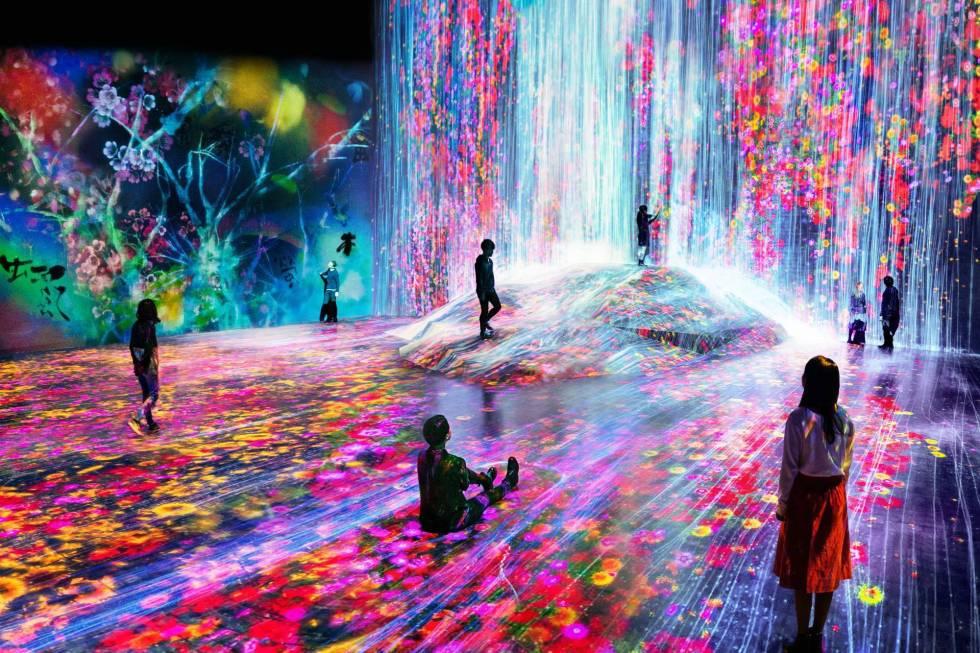 Mori Building Digital Art Museum, Image by teamLAB.
