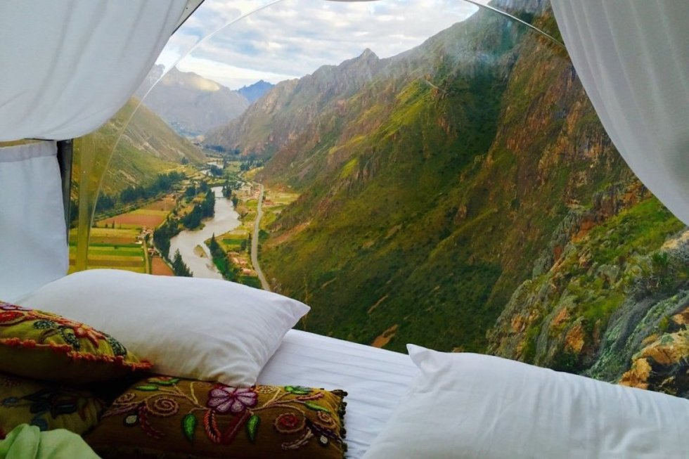 The Skylodge Adventure Suites in Cusco, Peru