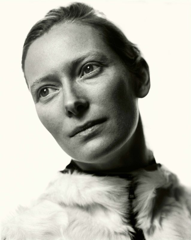 Tilda Swinton photographed by Donald MacLellan