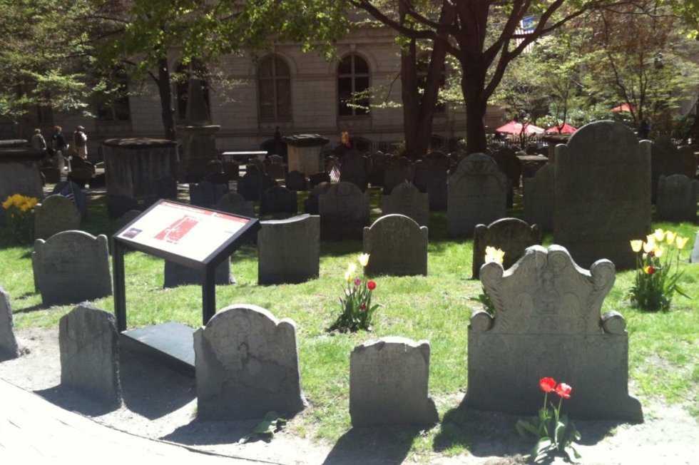 King's Chapel Burying Ground, Boston, Massachusetts, USA. Photo by Katerina Papathanasiou/The Vale Magazine