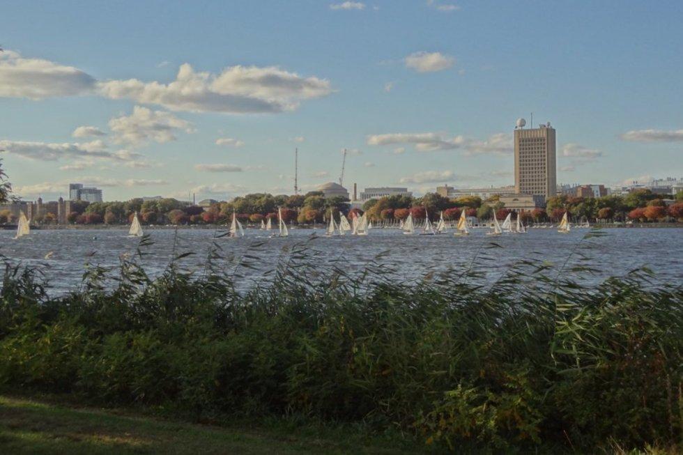 Charles River, Boston, Massachusetts, USA. Photo by Katerina Papathanasiou/The Vale Magazine