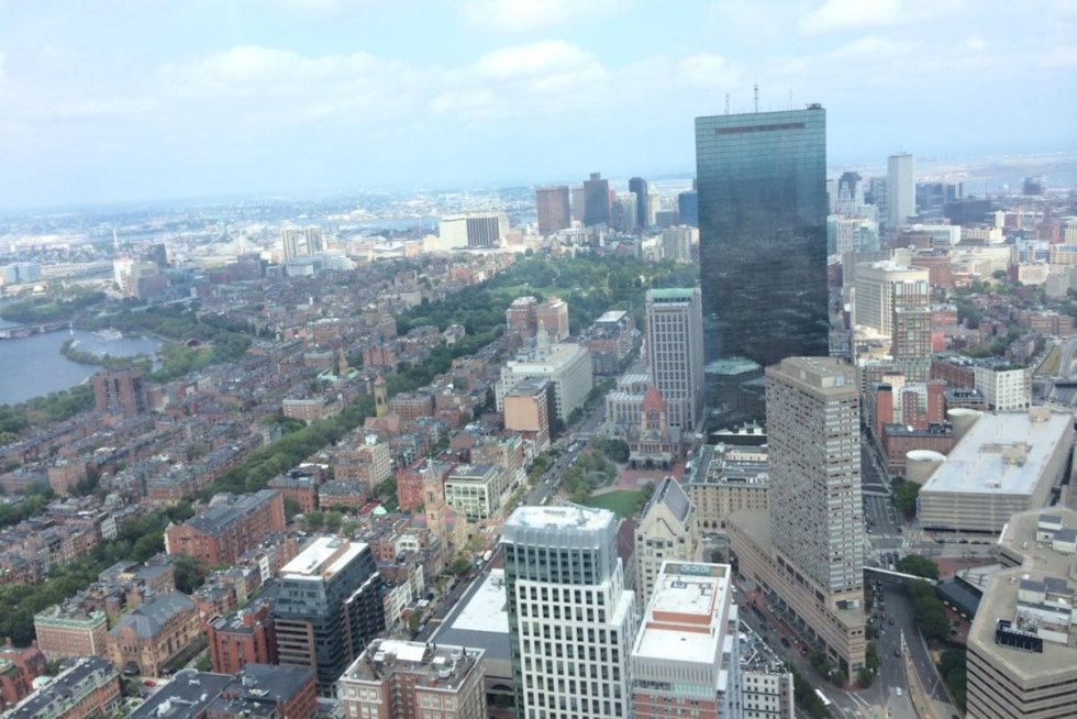 Top of the Hub, Boston, Massachusetts, USA. Photo by Katerina Papathanasiou/The Vale Magazine