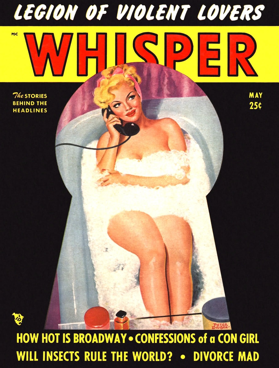 Whisper (1950), Peter Driben