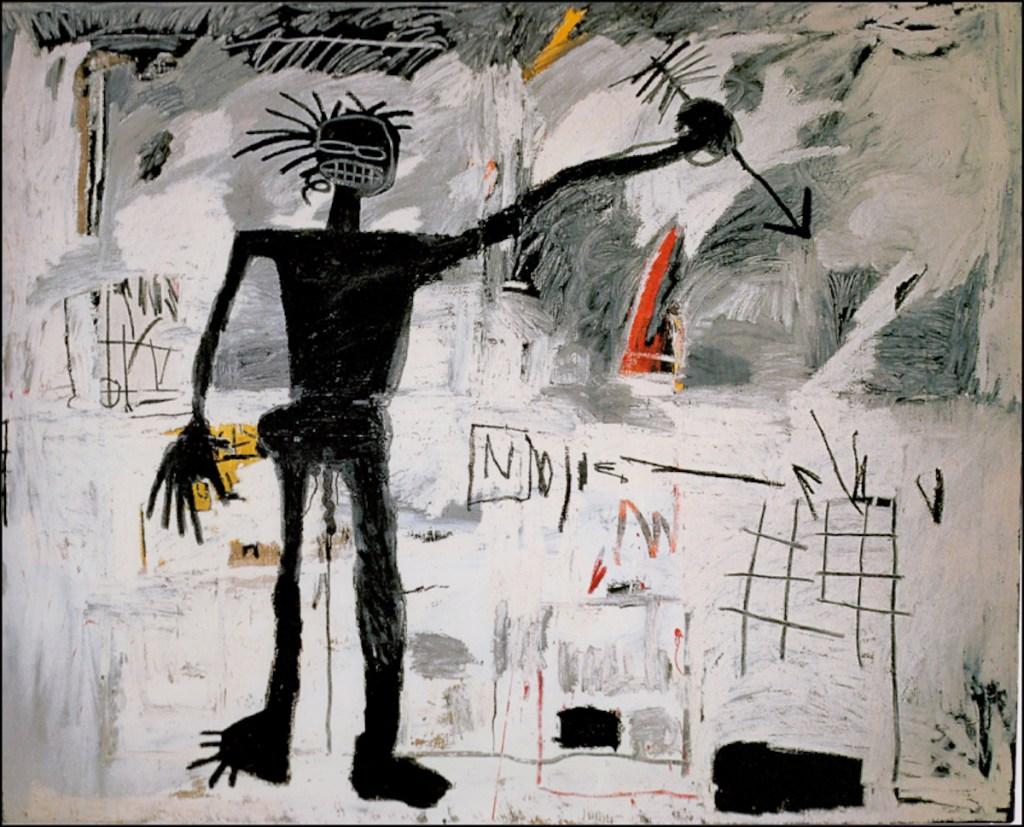 Jean-Michel Basquiat, Self-Portrait (1982) painting.